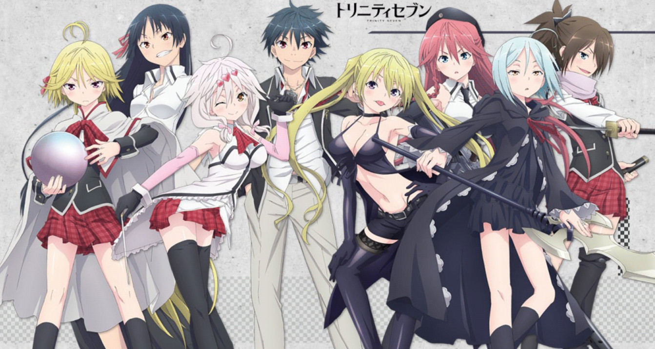 Trinity Seven Movie: 7-nin no Mahoutsukai BD Subtitle Indonesia