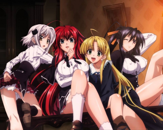 High School DxD Season 4 Episode 1-END Subtitle Indonesia