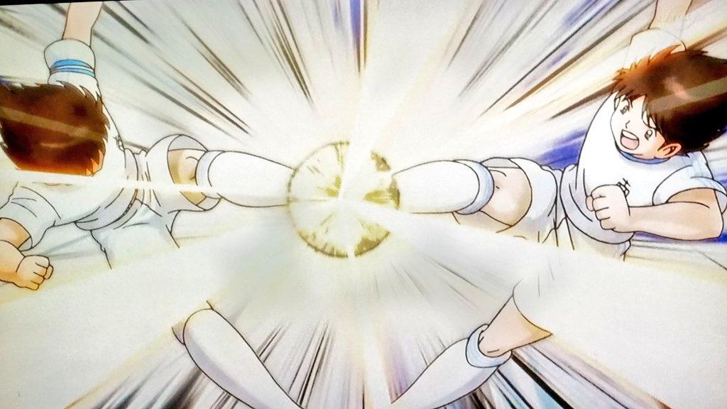 Hasil gambar untuk captain tsubasa 2018 episode 23