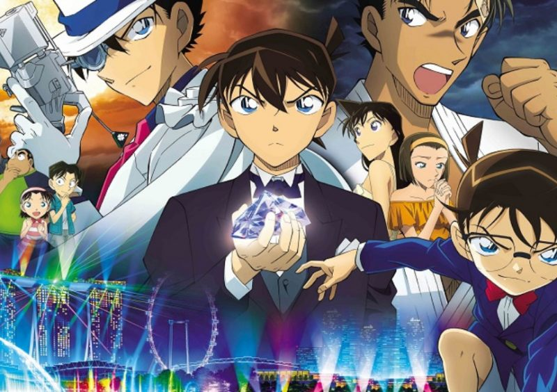 Detective Conan Movie 23 The Fist of Blue Sapphire Subtitle Indonesia